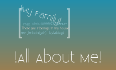 !All About Me!