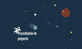 esentación de proyecto