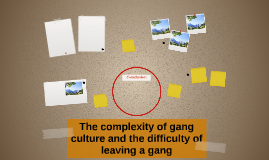 The complexity of gang culture and the difficulty of leaving
