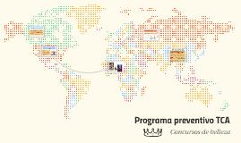 Programa preventivo TCA