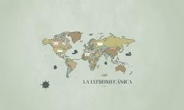 LA IATROMECÁNICA