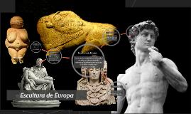 Escultura de Europa