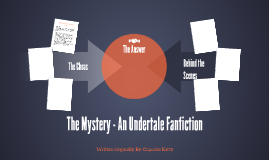 The Mystery - An Undertale Fanfiction