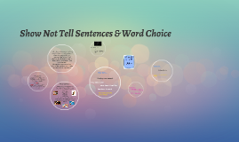 Show Not Tell Sentences & Word Choice