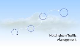 Nottingham Traffic Management