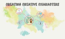 Creating Creative Characters