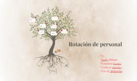 Rotation de personal