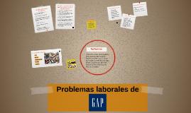 Problemas laborales de Gap