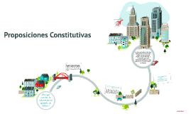 Proposiciones constitutivas