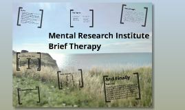 Copy of Brief Therapy