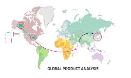 GLOBAL PRODUCT ANALYSIS