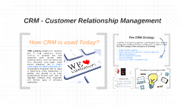CRM - Custmer Relationship Management