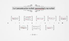 Comunicación verbal, paraverbal y no verbal