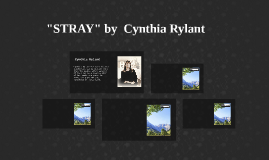 """STRAY"" by  Cynthia Rylant"