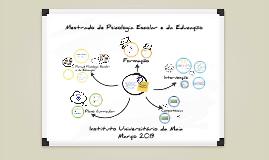 Aula Aberta - Apresentação do mestrado de Psicologia Escolar e da Educação do ISMAI 2015 by Francisco Machado