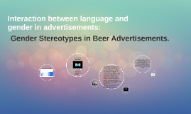 Interaction between language and gender in advertisements: