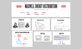 MAXWELL ENERGY DISTRIBUTION