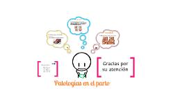 Patologías en el parto