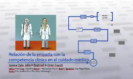 La Empatía está relacionada a la competencia clínica en el c