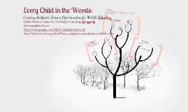 Every Child in the Woods