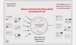 ACEC-Tramo 3-Diseño de un sistema de desarrollo continuo en educación