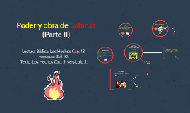 Poder y obra de Satanás