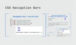 CSS Navigation