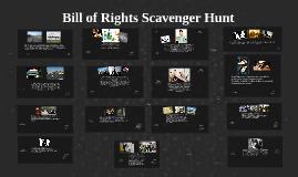 Copy of Bill of Rights Scavenger Hunt