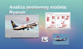 Analiza poslovnog modela: Ryanair