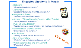 Engaging Students In Music