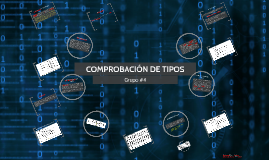 COMPROBACIÓN DE TIPOS