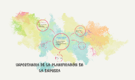 Copy of LA IMPORTANCIA DE LA PLANIFICACIÓN EN LA EMPRESA