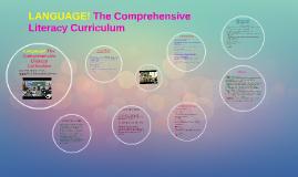 LANGUAGE! The Comprehensive Literacy Curriculum