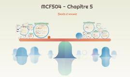 MCF504 - Chapitre 5