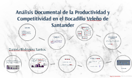 Análisis Documental de la Productividad y Competitividad en