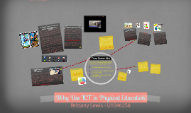 Why Use ICT in Physical Education