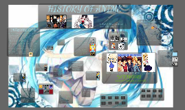 History of Anime
