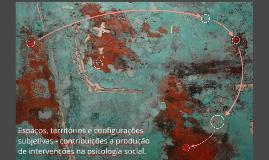 Espaços, territórios e configurações