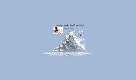 Immigrants in Canada