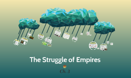 Ch. 3 The Struggle of Empires