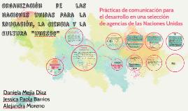 Organización de las Naciones Unidas para la Educación, la Ci