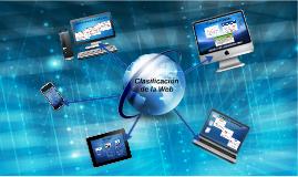 Clasificación de la Web