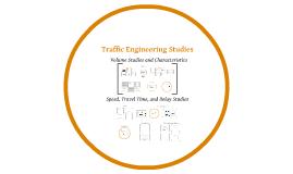Copy of Traffic Engineering Studies