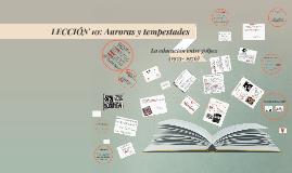 Lección 10: Auroras y Tempestades: La educación entre golpes (1955-1976)