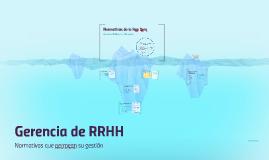 Gerencia de RRHH