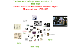 11R:  The Women's Suffrage Movement - Part II - 1867-1920