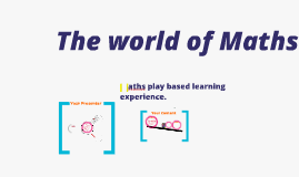Copy of Math In a Play Based Environment