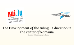 Bilingual education in the center of Romania