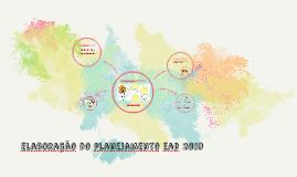 Preparação do planejamento ead 2019