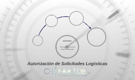 Autorización de Solicitudes Logisticas
